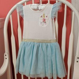 Unicorn Toddler Girl Casual Dress NWT